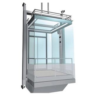 Триизмерен модел на проектирания асансьор